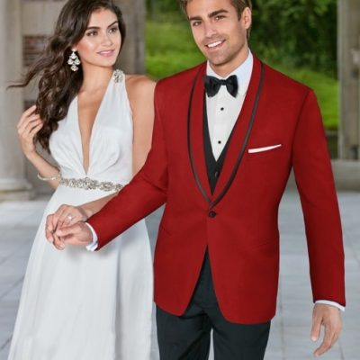 Red Carmine Tuxedo