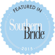 Logo for Southern Bride showcasing tuxedo rentals in Metairie, LA