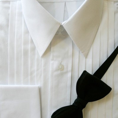 Shirt - White Laydown Collar