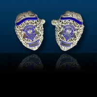 Jefferson Parish Sheriff's Office Badge Cufflinks