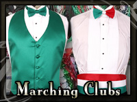 New Orleans Irish and Italian Marching Clubs Tuxedos