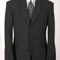 Grey Rental Suit 3-Button