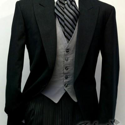Grey Cutaway Tuxedo Lord West