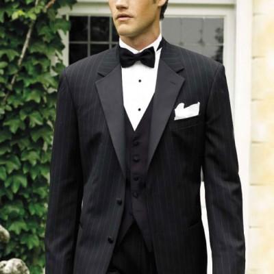Perry Ellis Chalkstripe Tuxedo