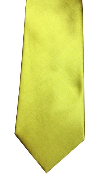 Gold Suit Tie