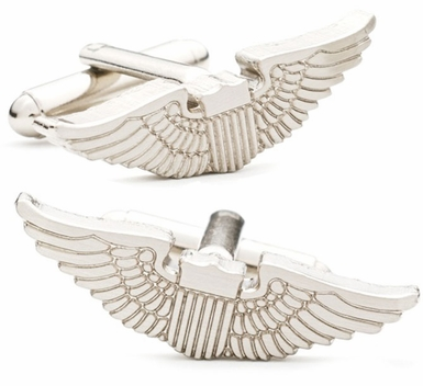 Aviator's Wings Cufflinks