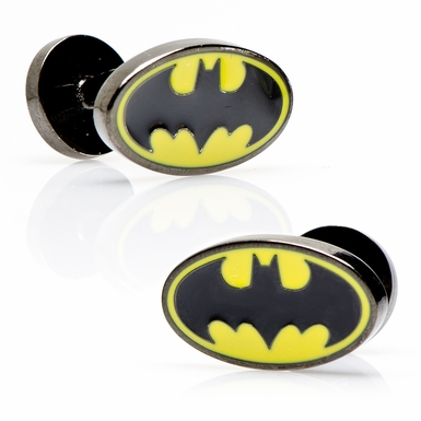 Batman Oval Cufflinks