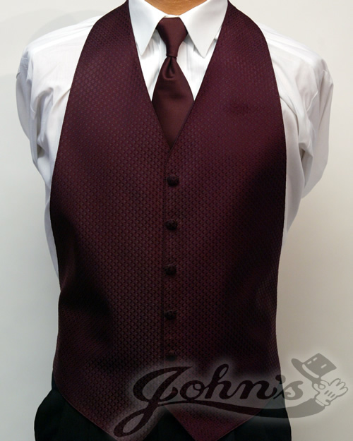Burgundy Enchantment Vest