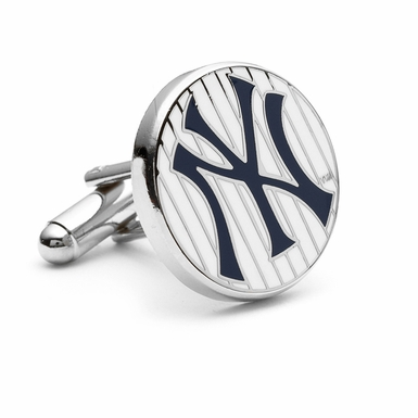 New York Yankees Pinstripe Cufflinks