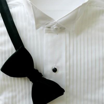 White Wing Tip Collar