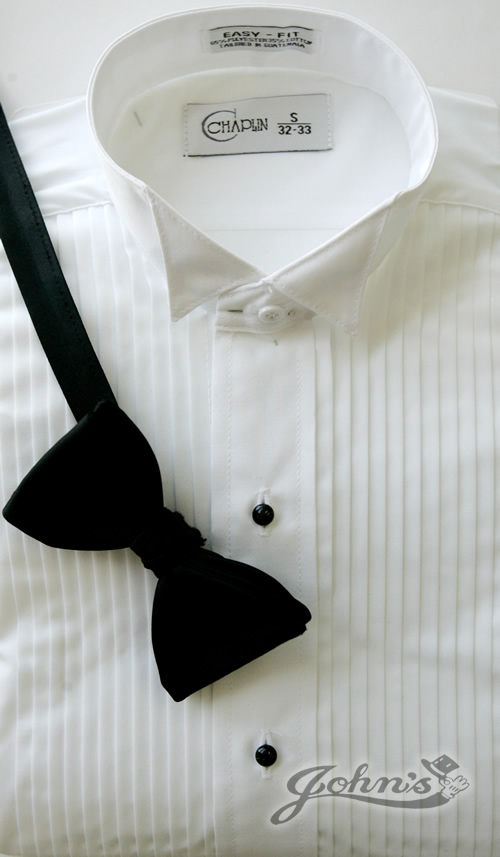 White Wing Tip Collar