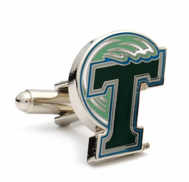Tulane Green Wave Cufflinks