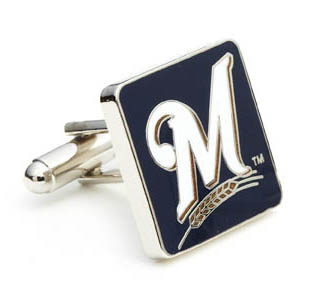 Milwaukee Brewers Cufflinks