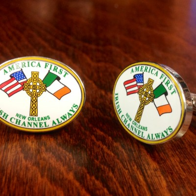 Irish Channel Cufflinks