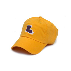 LOUISIANA BATON ROUGE GAMEDAY HAT GOLD