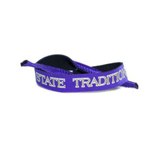 STATE TRADITIONS CROAKIES PURPLE WITH GOLD