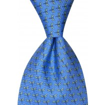 Dragonfly Tie - Blue