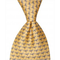 Dragonfly Tie - Yellow