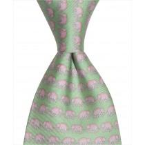 Elephant Tie - Green