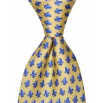 Fleur De Lis Tie - Gold