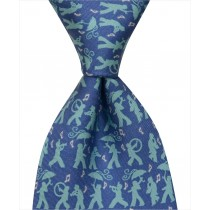 Secondline Jazz Tie - Blue