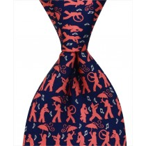 Secondline Jazz Tie - Navy