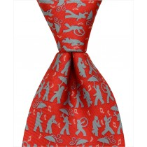 Secondline Jazz Tie - Red