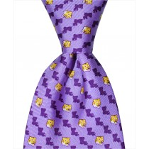 LSU State Tiger Tie - Purple
