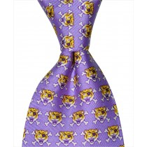 LSU Tiger PirateTie- Purple
