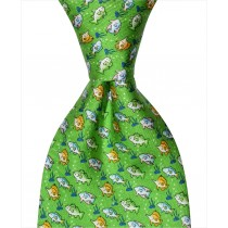 Multi-Fish Tie - Green