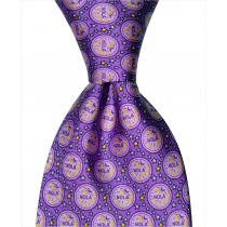 NOLA Water Meter Tie - Purple