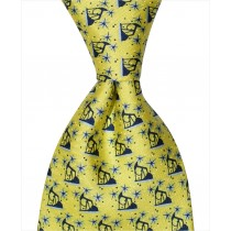 Iron Horse Tie - Yellow