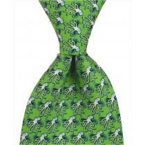 Octopus Tie - Green
