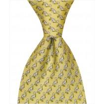 Pelican Tie - Yellow