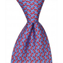 Red Beans Tie - Blue