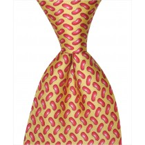 Red Beans Tie - Yellow