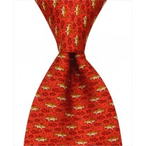 Redfish Tie - Red