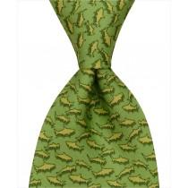 Shark Tie - Green
