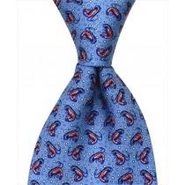 Shrimp Tie - Blue