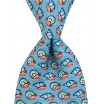 Snail Tie - Blue