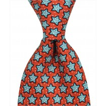 Starfish Tie - Red