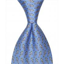 Voodoo Doll Tie - Blue