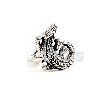 Alligator Sterling Cufflink