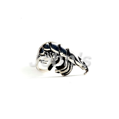 Shrimp Sterling Cufflink