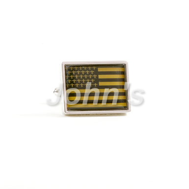 Saints Flag Cufflink