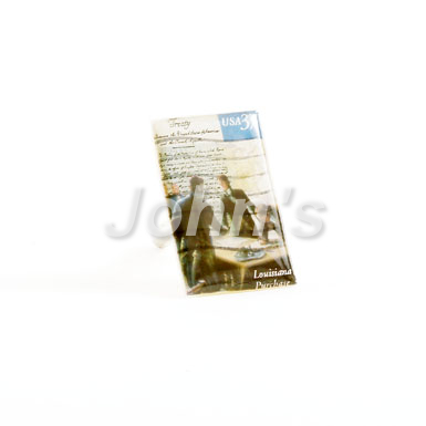 Signing of the Louisiana Purchase Stamp Cufflink