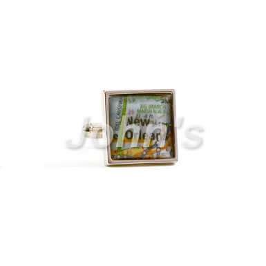 City of New Orleans Cufflink