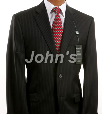 Ralph Lauren Black Pinstripe Suit