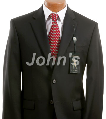 Black Ralph Lauren Suit