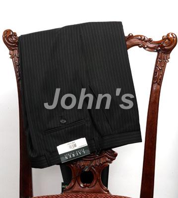 Ralph Lauren Black Pinstripe Suit Pant